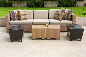 Get an outdoor living room set