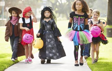 Take the living room outside this Halloween