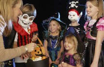 Tips for handing out treats on Halloween