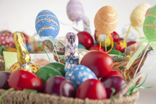 Decorative Easter baskets