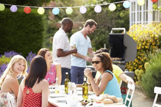 Some outdoor party tips